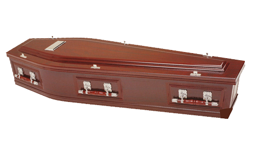 Double Raised Lid Coffin