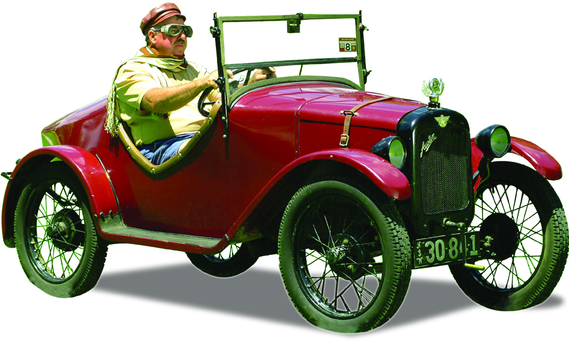 Austin 7 duck back sports car