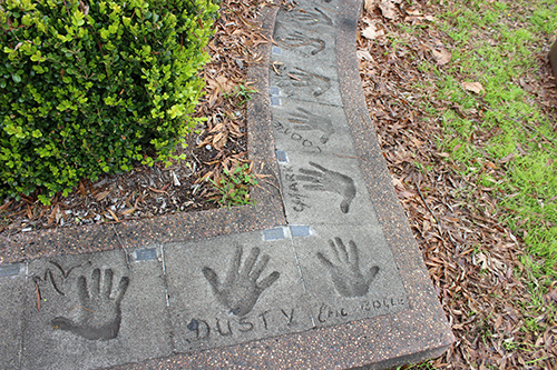 Tamworth Hands of fame