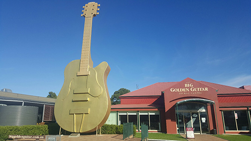 Tamworth's Golden Guitar