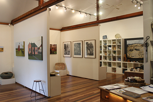 Inside the Weswal Gallery