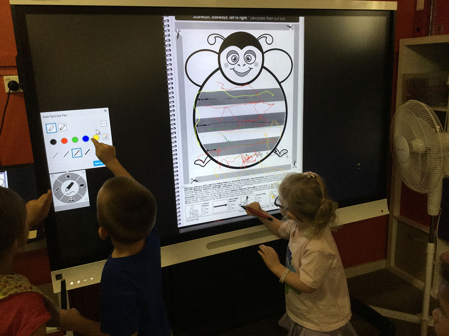 New Whiteboard technology transforms learning for one NSW preschool