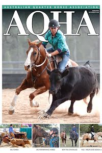 AQHA MAGAZINE July / August 2020 cover