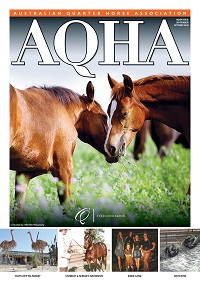 AQHA MAGAZINE September / October 2020 cover