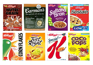 mini breakfast cereal options