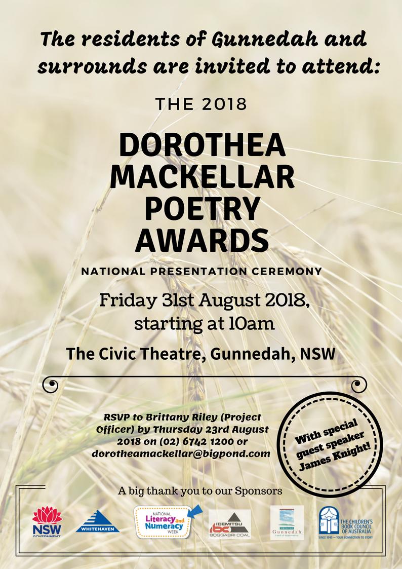 2018 National Presentation Ceremony