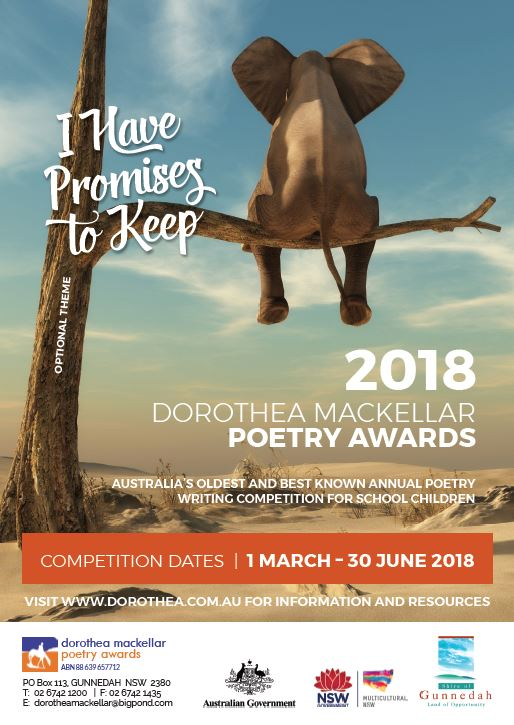 2018 Poetry Awards