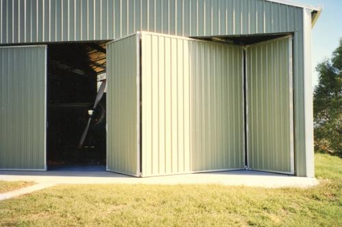 Aircraft Concertina Doors