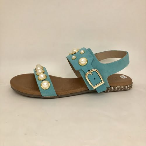 ZIZI REMY TURQUOISE SUEDE