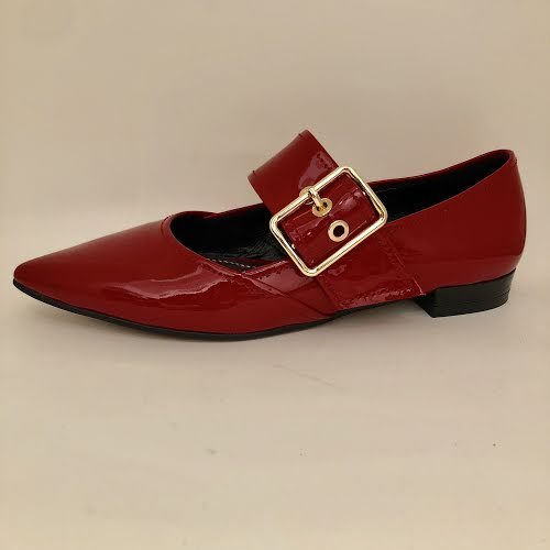ZIZI BEE RED PATENT