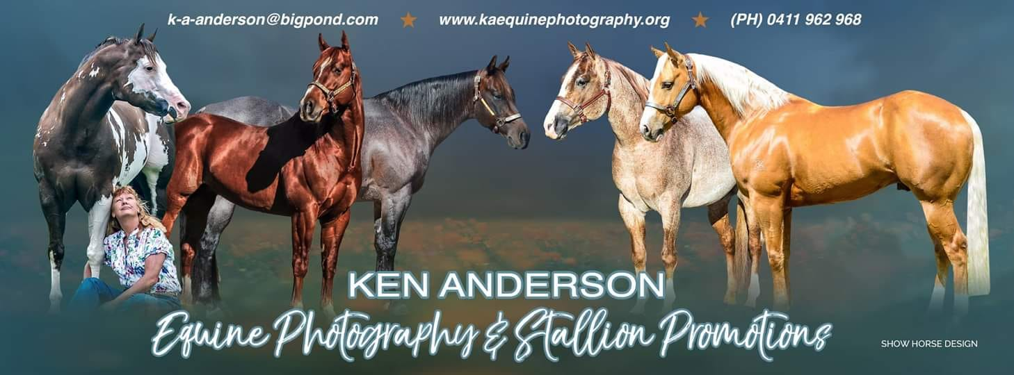 Ken Anderson Equine Photography Logo