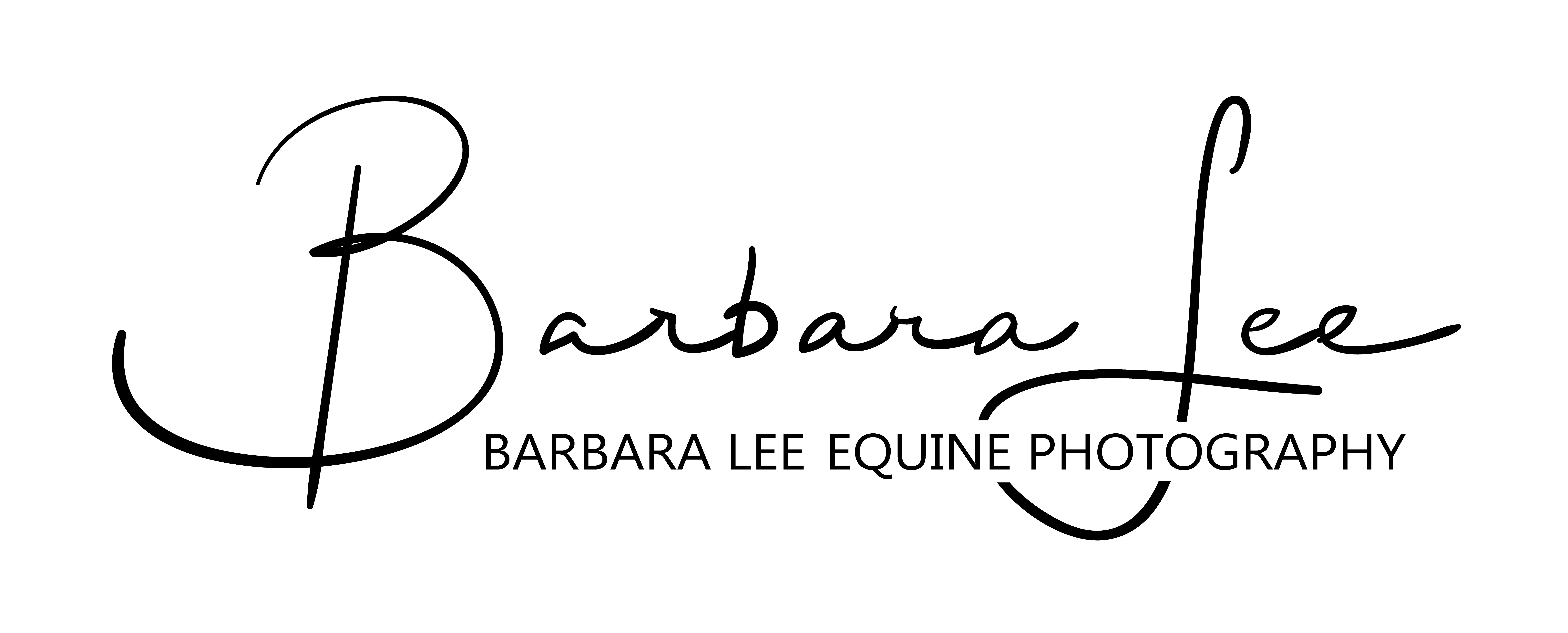 Barbara Lee Equine Photography logo