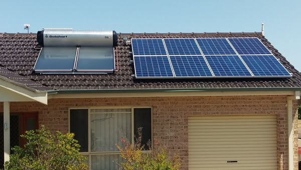 Tamworth NSW 2Kw solar PV + 302KF