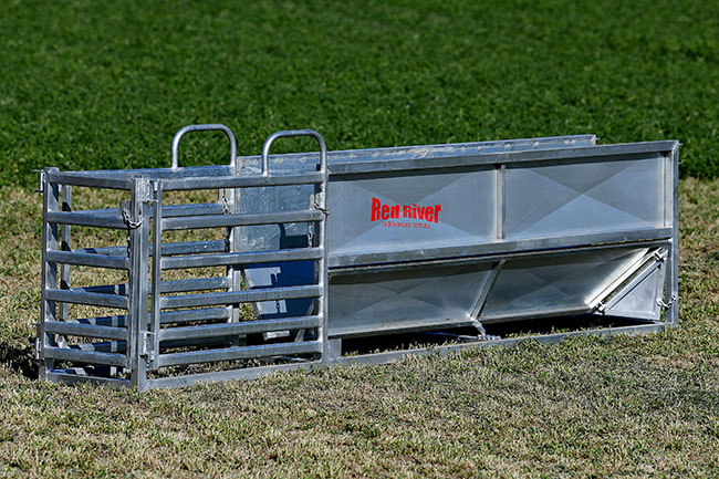 Adjustable Vee Race Sheep