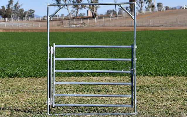 Bronco Double Hinged Gate