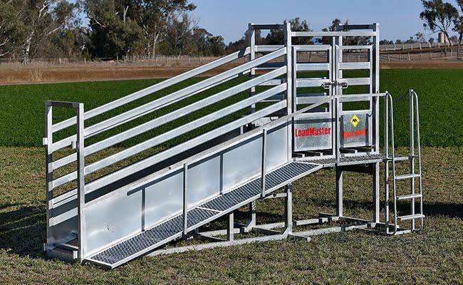 Load Master Cattle Loading Ramp