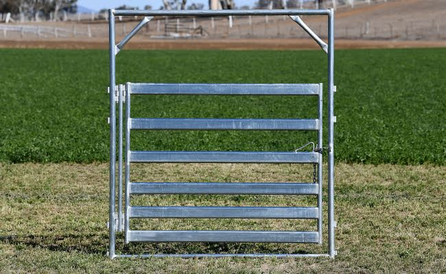 Super Heavy Duty Double Hinged Gate