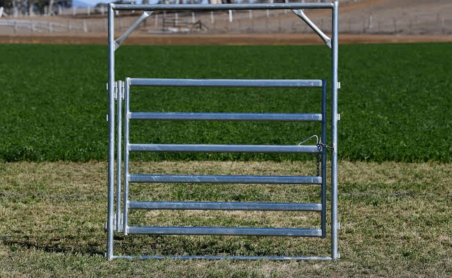 Premium Heavy Duty Double Hinged Gate and Frame