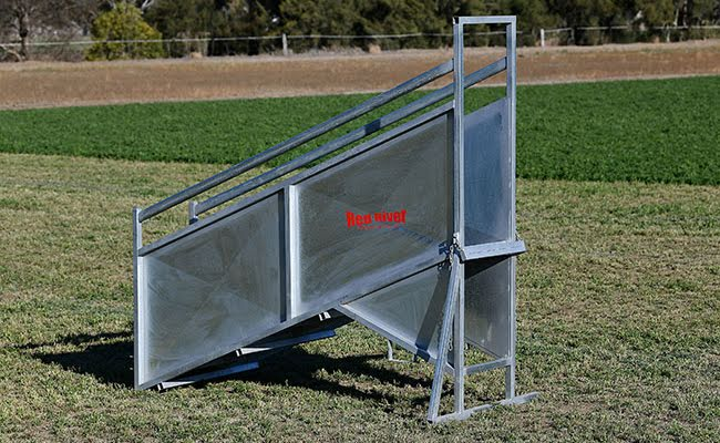 Adjustable Sheep Loading Ramp