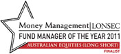 LONSEC Money Management Fund Manager Of The Year 2011