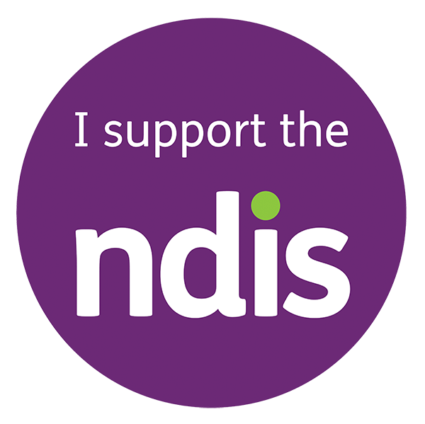 I support the NDIS logo